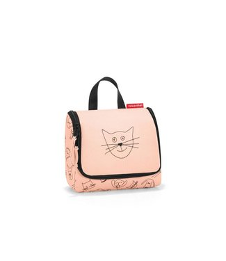 Reisenthel  Reisenthel Necessaire Toiletbag S Kids Cats and Dogs Rosa