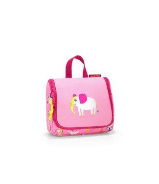 Reisenthel  Reisenthel Necessaire Toiletbag S Kids ABC Friends Pink
