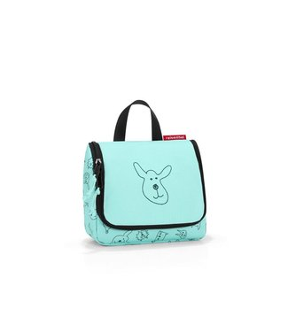 Reisenthel  Reisenthel Necessaire Toiletbag S Kids Cats and Dogs Mint