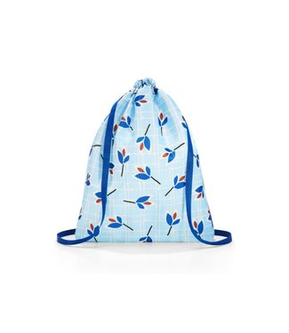 Reisenthel  Reisenthel Turnsack Mini Maxi Sacpack Leaves Blue Ohne Motiv