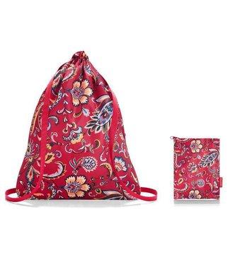 Reisenthel  Reisenthel Turnsack Mini Maxi Sacpack Paisley Ruby Ohne Motiv