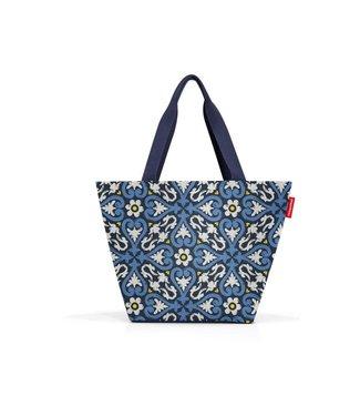 Reisenthel  Reisenthel Tasche Shopper M 15 l Floral 1 Blau/Weiss/Gelb
