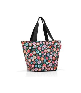 Reisenthel  Reisenthel Tasche Shopper M happy flowers Blau; Weiss