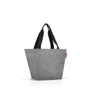 Reisenthel  Reisenthel Tasche Shopper M Twist Silver Schwarz; Mehrfarbig