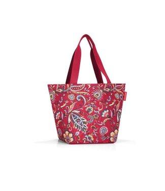 Reisenthel  Reisenthel Tasche Shopper M Paisley Ruby Rot