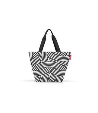 Reisenthel  Reisenthel Tasche Shopper M Zebra Schwarz/Weiss