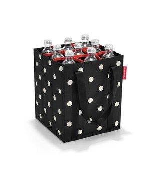 Reisenthel  Reisenthel Flaschentasche Bottlebag Mixed Dots Schwarz/Weiss