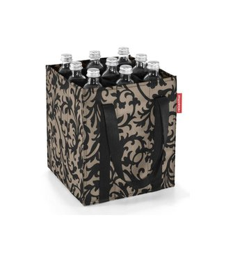 Reisenthel  Reisenthel Flaschentasche Bottlebag Baroque Taupe Schwarz/Braun