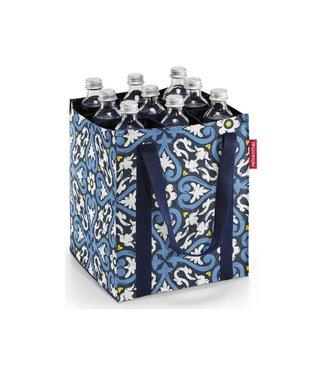Reisenthel  Reisenthel Flaschentasche Bottlebag Flora 1 Blau/Weiss/Gelb