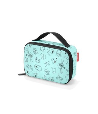 Reisenthel  Reisenthel Lunchbox Thermocase Kids Cats and Dogs Mint
