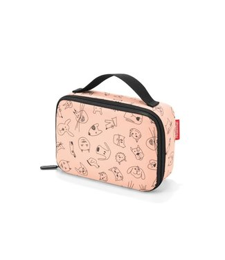 Reisenthel  Reisenthel Lunchbox Thermocase Kids Cats and Dogs Rosa
