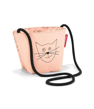 Reisenthel  Reisenthel Schultertasche Cats and Dogs Rosa