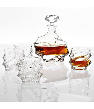 EICHHOLTZ Eichholtz DEKANTER GATSBY 5ER SET | Whisky-Set