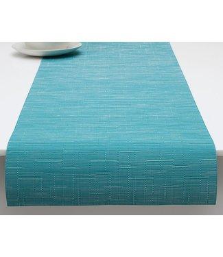 Chilewich Chilewich  Bambusläufer Blaugrün