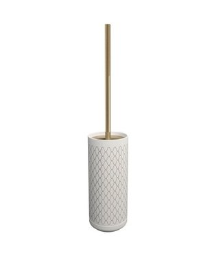Rosenthal Rosenthal Equilibrium Netting Weiss Bronze Stand-WC-Bürstenhalter
