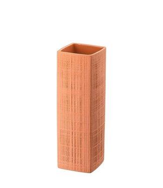 Rosenthal Rosenthal Sixty & Twelve Structura Fabric Coral Vase 27 cm