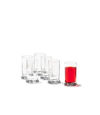 Leonardo Leonardo Schnapsglas GLT 60 ml, 6 Stück, Transparent