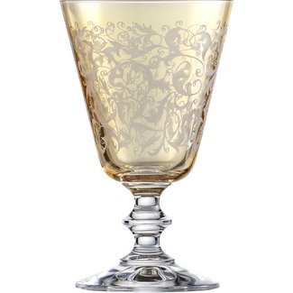 Eisch Glas Rotweinglas Toulouse bernstein, ambervon Eisch