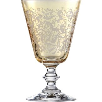 EISCH  Weissweinglas Toulouse bernstein, ambervon Eisch