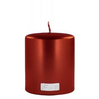 FINK-LIVING Exklusive Kerze, metallic rot von Fink-Living
