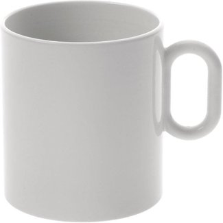 ALESSI Dressed Mug Tasse 4er Set mit Reliefdekor von ALESSI