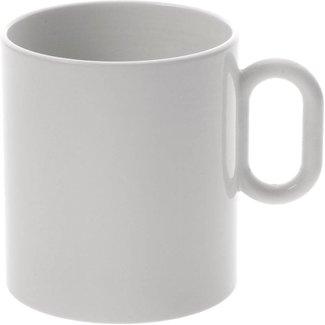 Dressed Mug Tasse 4er Set mit Reliefdekor von ALESSI