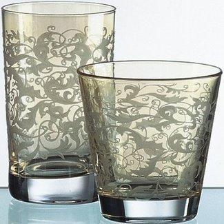 Eisch Glas Wasserglas Toulouse bernstein, amber von Eisch
