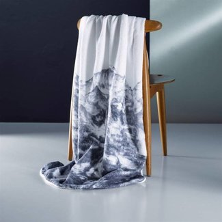 CHRISTIAN FISCHBACHER PIZ Towel Duschtuch, Badetuch bedruckt von Christian Fischbacher