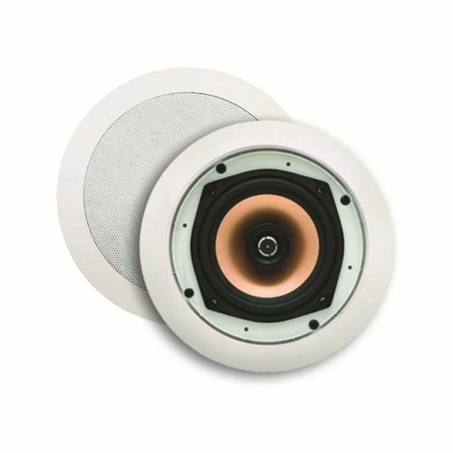 Speakerset Samba (Draaibare Tweeter) Mat Chroom Rond 215Mm
