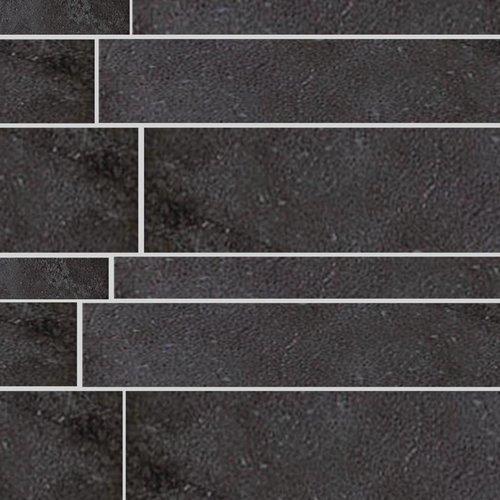 Tegel Stroken Ardosia Listone Nero 5, 10, 15X60Cm P/M²