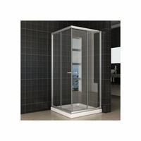 Douchecabine Aktie Hoekinstap 90X90X190 Cm 5Mm Helder Glas