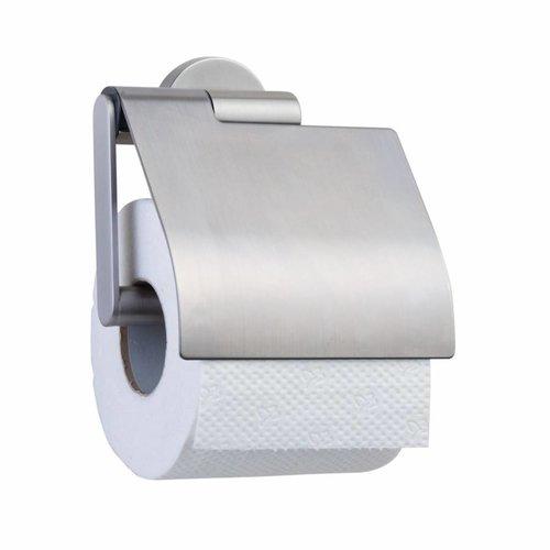Toiletrolhouder Boston Met Klep Rvs Geborsteld