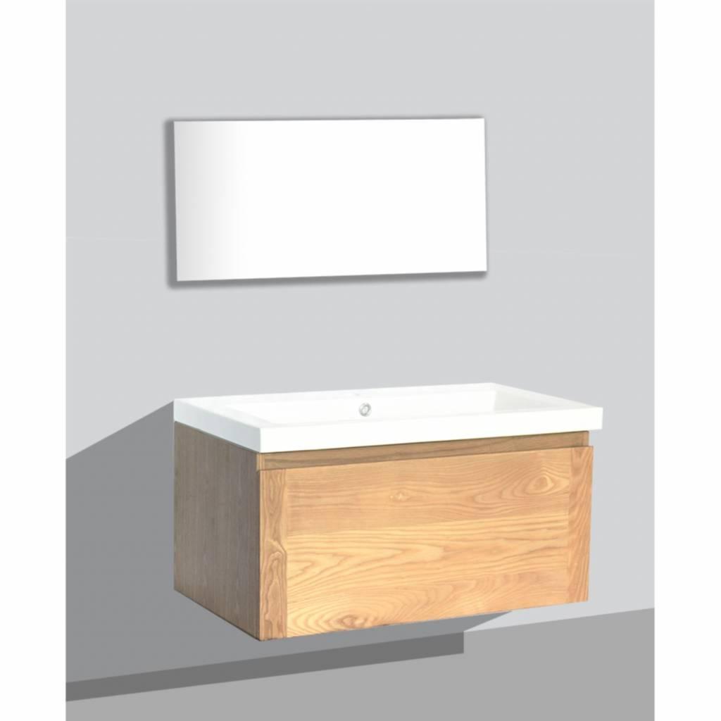 Aqua Royal Badmeubel Vision Keramiek - Badmeubel Vision Keramiek 80 cm