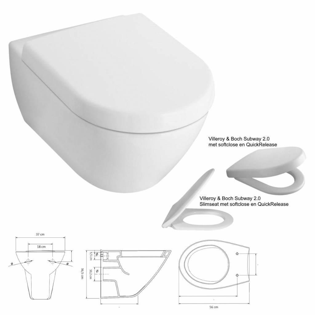 Toilet Villeroy En Boch.Geberit Up320 Toiletset 22 Villeroy Boch Subway 2 0 Met Sigma Drukplaat