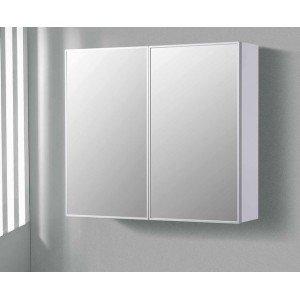 Spiegelkast 80/100Cm Hoogglans Wit