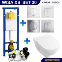 Onderdelen Villeroy Boch Toilet.Wisa Xs Toiletset 30 Villeroy Boch O Novo Directflush Met Bril En Drukplaat