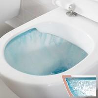 Up320 Toiletset 30 Villeroy & Boch O.Novo Directflush Met Bril En Drukplaat