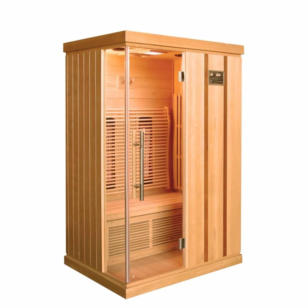 Infrarood Sauna Trendy 125x103 Cm 1800w 2 Persoons Sauna