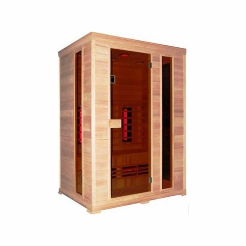 Infrarood Sauna Classico 2 150X100 Cm 2400W 3 Persoons