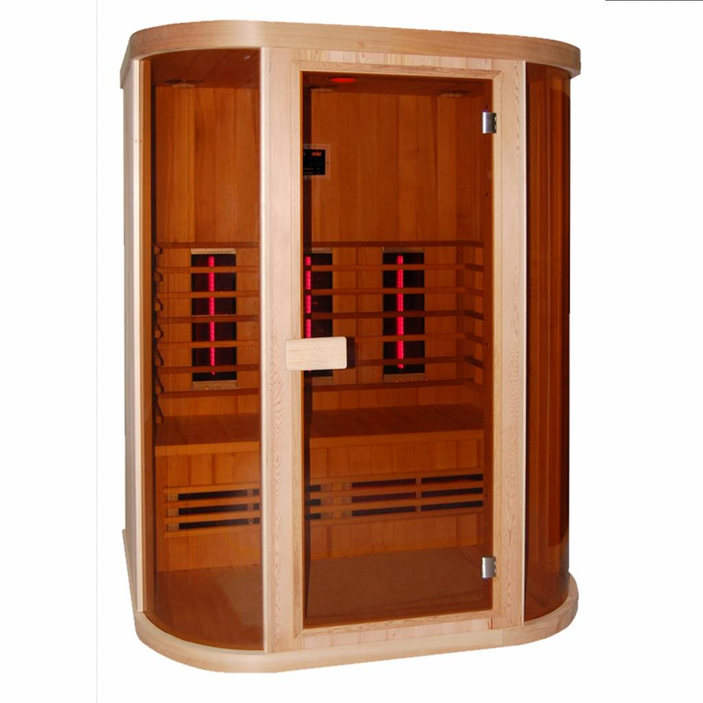 a0526934a08 Infrarood Sauna Safir 152X112 Cm 2400W 3 Persoons | Sauna