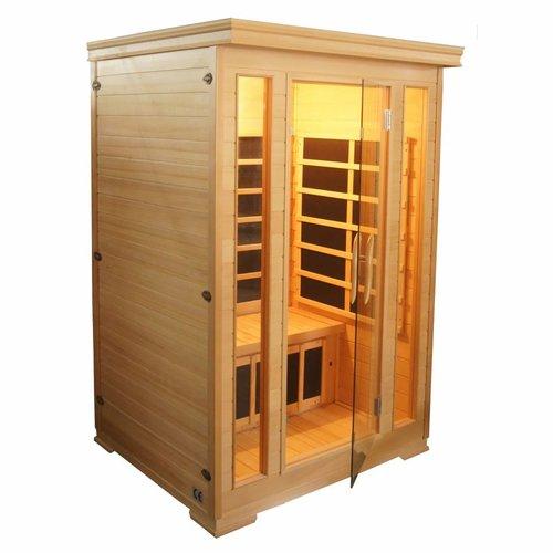 Infrarood Sauna Comfort 125X120 Cm 1850W 2 Persoons