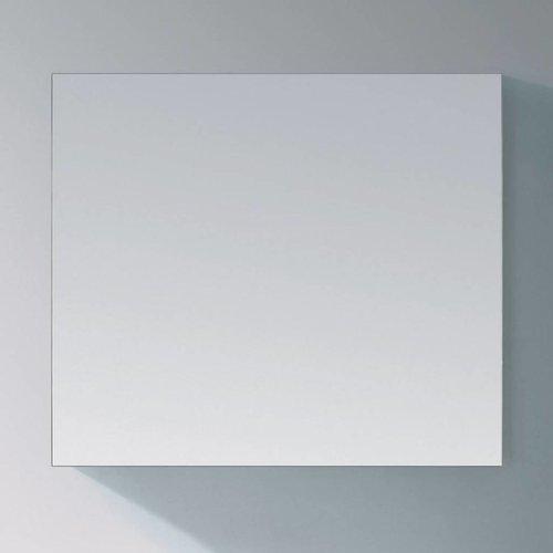Basis Spiegel Aluminium Geborsteld (In 9 Maten)