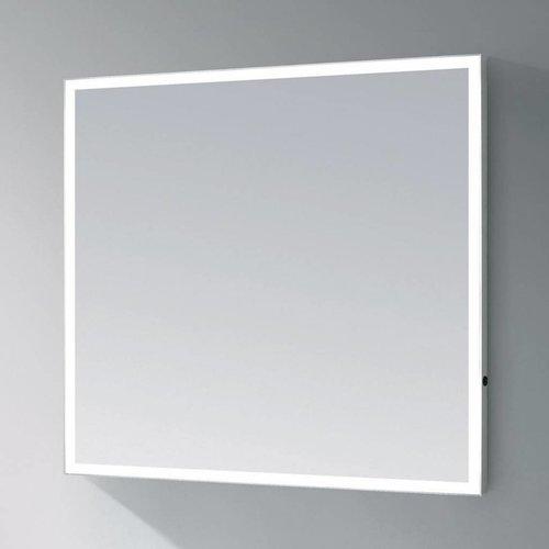 Spiegel Edge Led Verlichting Aluminium Geborsteld (In 9 Maten)