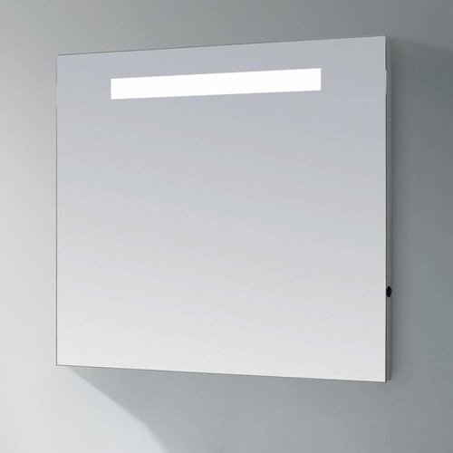 Spiegel Light Aluminium Geborsteld (In 9 Maten)