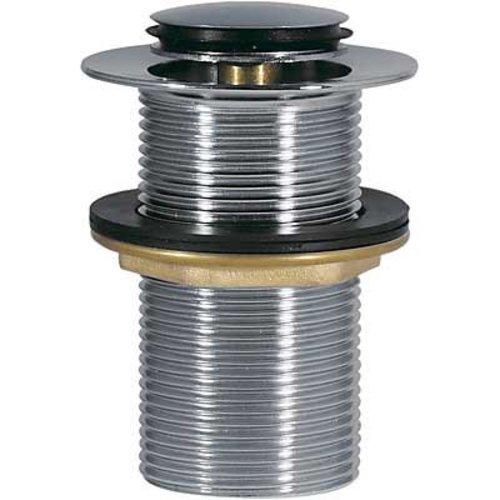 Complementos Afvoerplug zonder overloop Ø37mm CLICK?CLACK 13454070