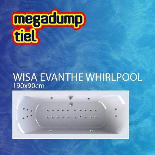 Evanthe Whirlpool 190X90X48 Cm Sportpakket Deluxe