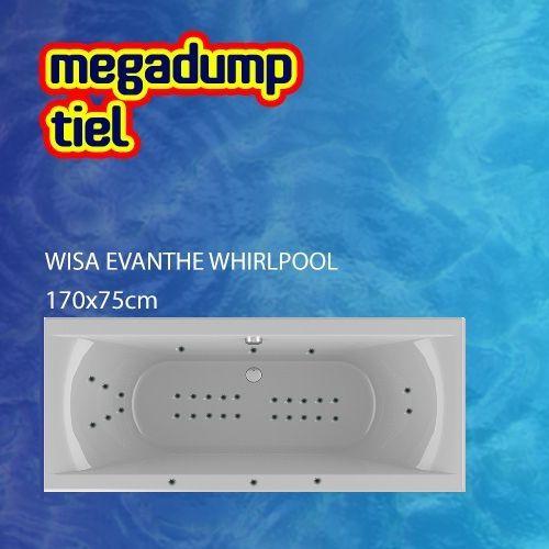 Evanthe Whirlpool 170X75X48 Cm Sportpakket Deluxe