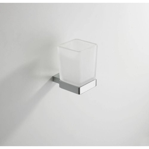 Eros Glashouder Met Glas Chroom