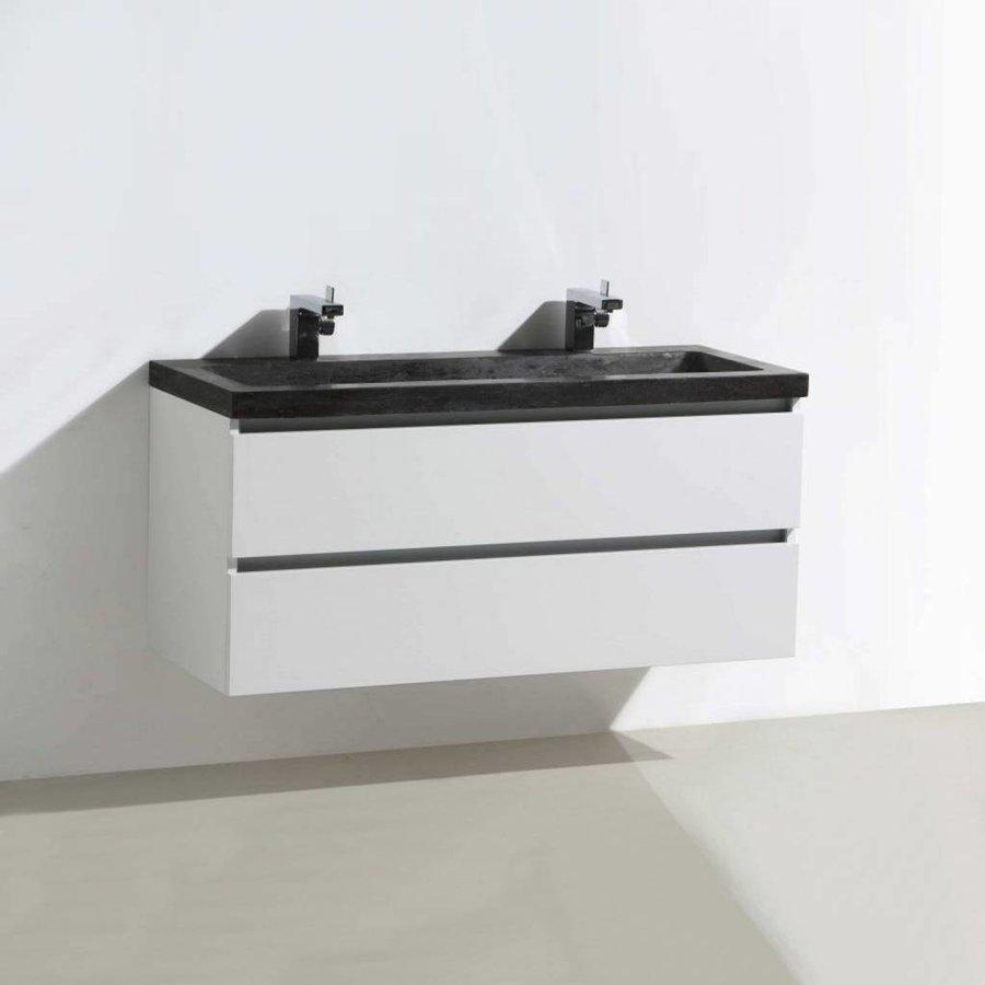 Badmeubel Trend Stone 120cm 2 laden + spiegel (in 4 kleuren)