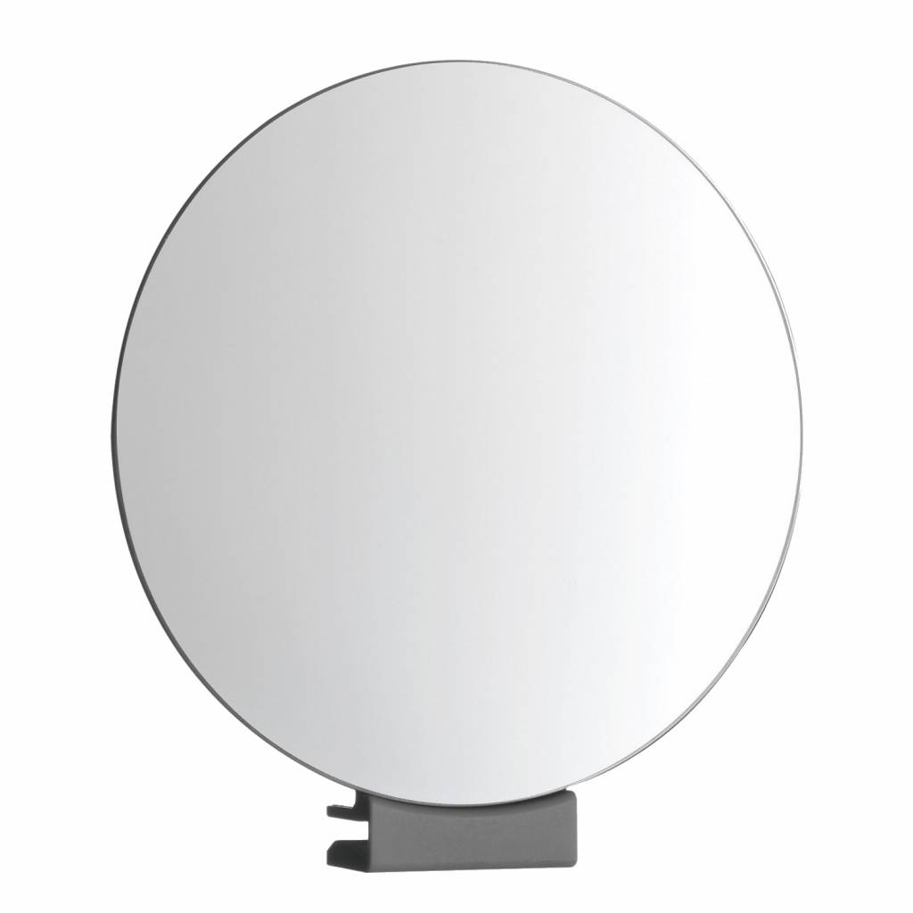 Scheerspiegel Rond Met Klem �12cm Glasdikte 5-6mm Chroom